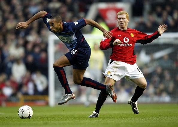 Thierry Henry picks Paul Scholes as Premier League's best player of all time