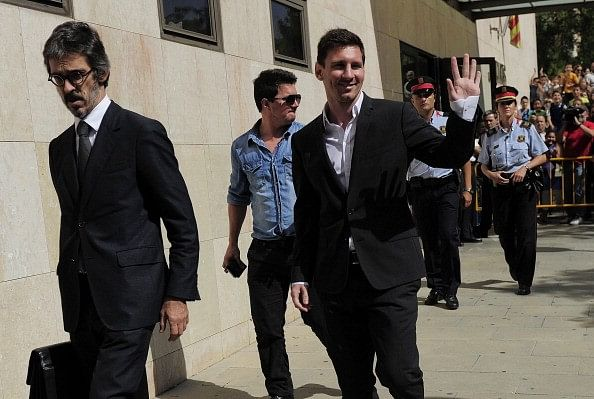 Messi maintains his innocence in the tax fraud case, Barcelona come out in support as well