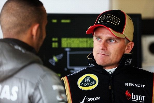 Heikki Kovalainen Austin 2013