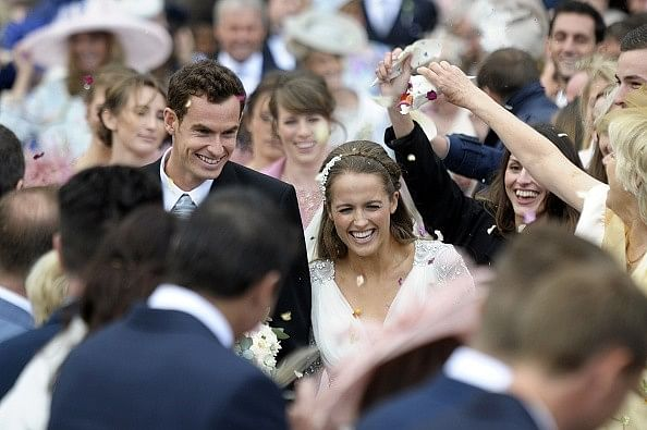 Why Andy Murray's wedding was the off-court tennis event of the year