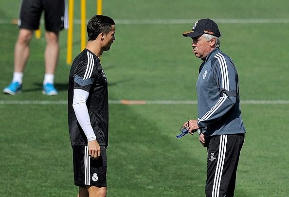 Carlo Ancelotti says Cristiano Ronaldo will finish his career at Real Madrid