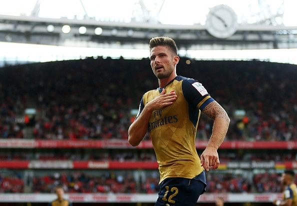 Giroud feels weird playing back-up to Theo Walcott at Arsenal