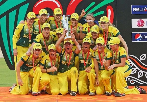 ICC Women's Team Rankings launched