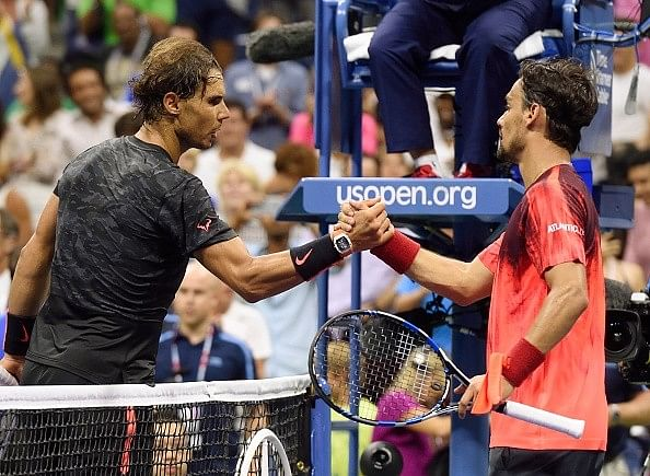 Nadal vs Fognini 5.0 at the China Open: Can Fognini do a US Open repeat?