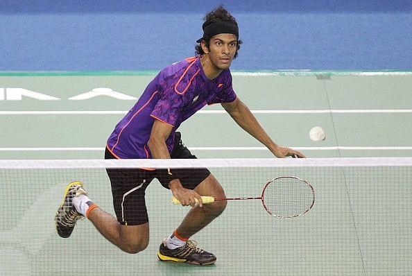 2015 Dutch Open Grand Prix: Defending champion Ajay Jayaram through to the semifinal