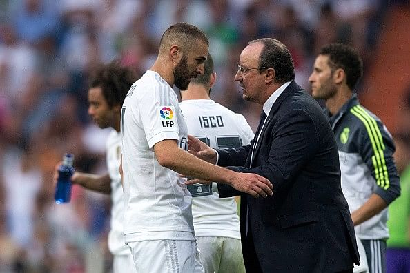 Real Madrid striker Karim Benzema says he is fed up with being substituted by Rafa Benitez