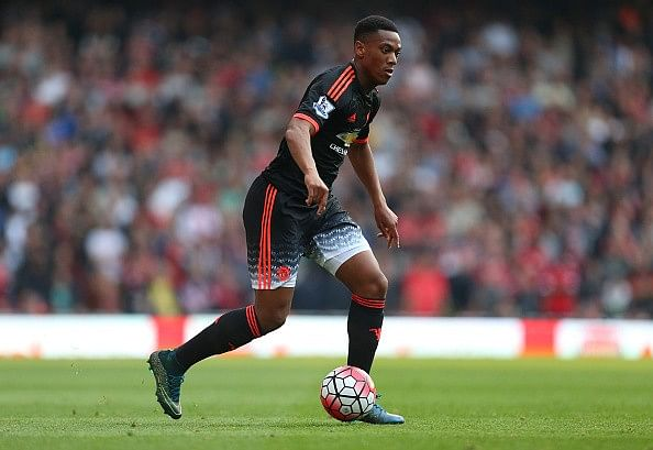 Anthony Martial brushes aside talk of comparisons with Arsenal legend Thierry Henry