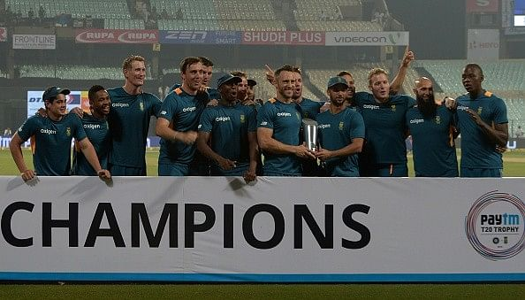 South Africa clinch series 2-0 after Kolkata washout