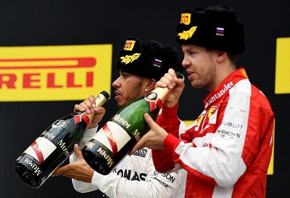 10-place grid penalty for Sebastian Vettel; Lewis Hamilton likely to confirm title at US Grand Prix