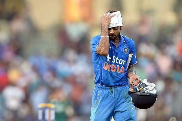 Virat Kohli pushed himself to his limits to help India level series