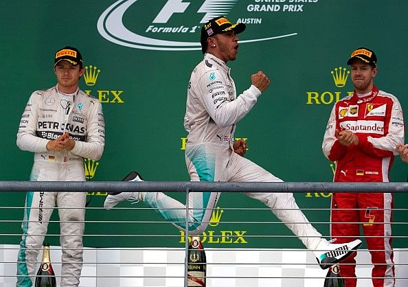 3-time champion Lewis Hamilton is on his way to becoming one of the greats