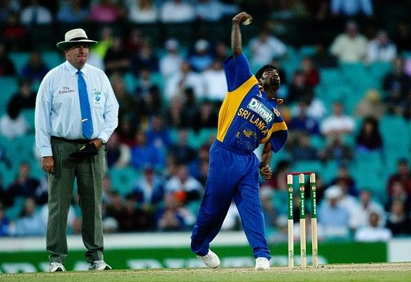 Why was Muralitharan's bowling action considered legal?