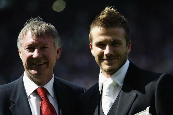 David Beckham admits he was 'nervous' when he invited Sir Alex Ferguson for UNICEF match