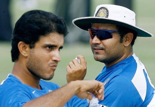 Sourav Ganguly pays tribute to Virender Sehwag