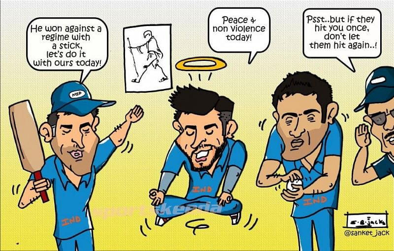 Comic: Team India ready for South Africa's challenge on Gandhi Jayanti