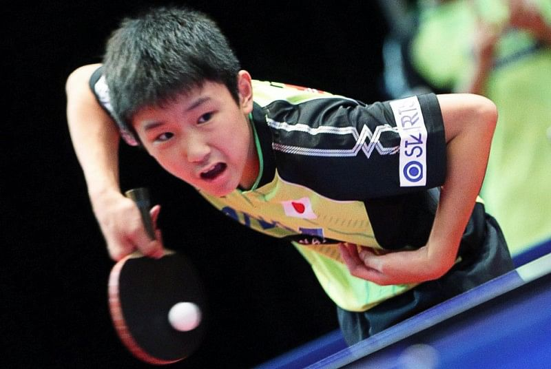 Video: 12-year old Tomokazo Harimoto shocks table tennis community by defeating world number 72