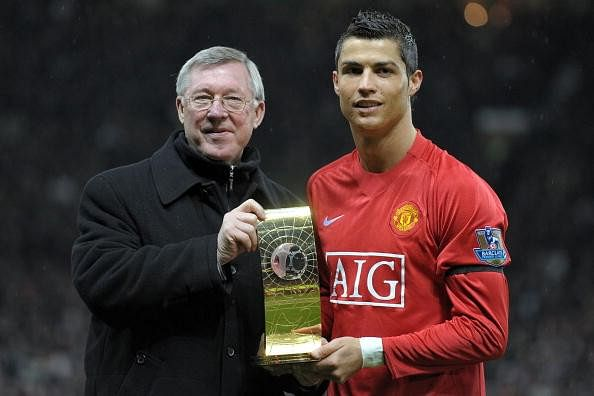 Former Manchester United star Cristiano Ronaldo calls Sir Alex Ferguson his football father