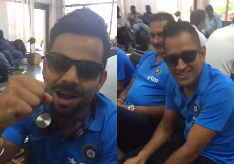Video: When AB de Villiers made Dhoni, Kohli and Shastri cheer for South Africa