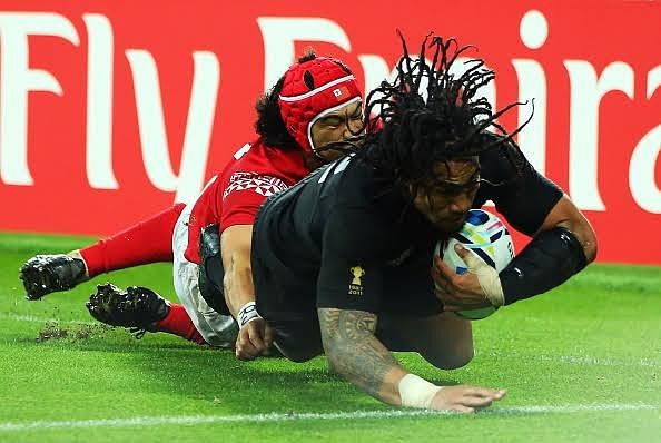 2015 Rugby World Cup: New Zealand put in scintillating final half hour to quell Tongan challenge