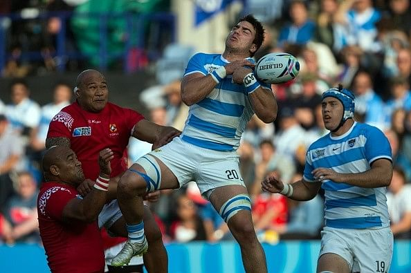 2015 Rugby World Cup: Argentina thrash Tonga to make quarterfinals