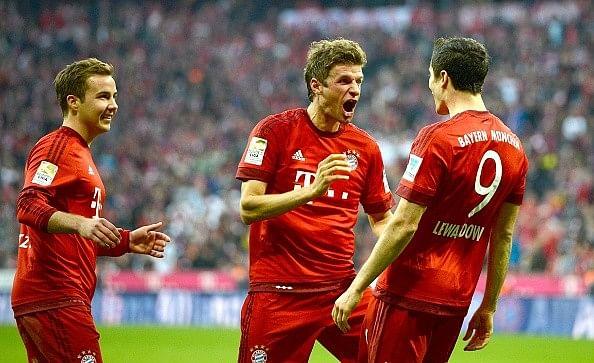 Bayern Munich thrash Borussia Dortmund 5-1 at the Allianz Arena