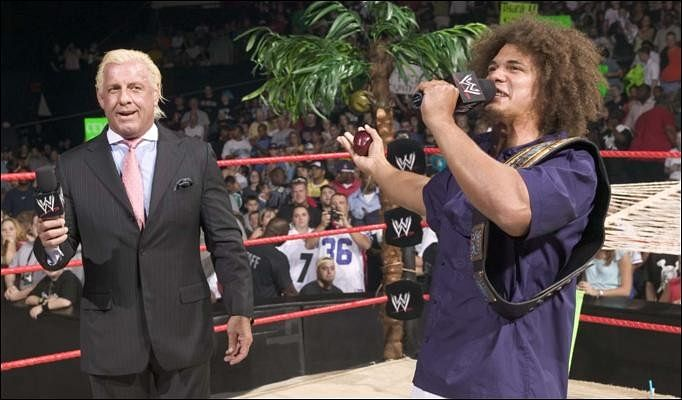 WWE - Carlito, Stephanie off TV for a while, backstage news on Austin - Lesnar