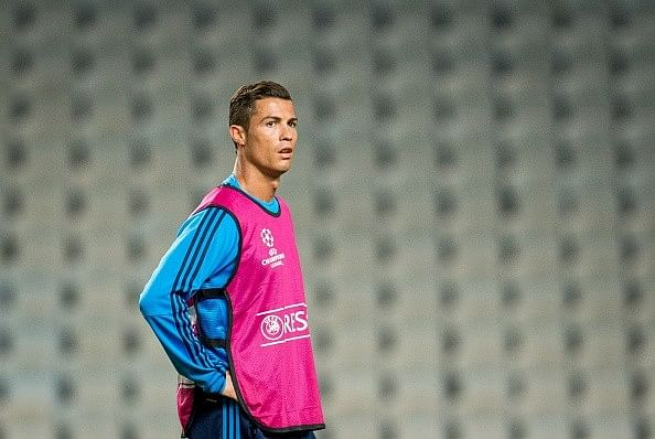 Cristiano Ronaldo loses his temper when reporter questions him on Gerard Pique's comments