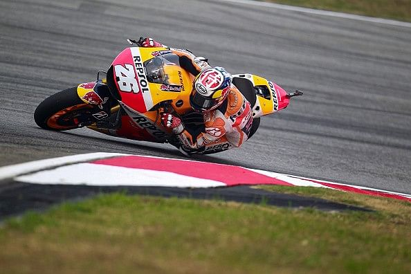 2015 Malaysian Moto GP Qualifying results
