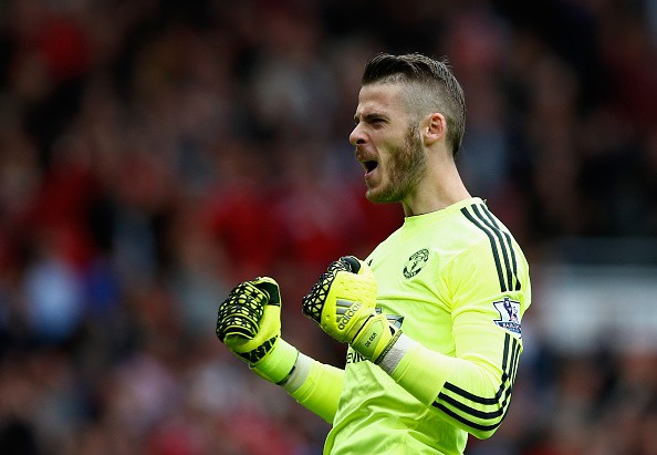 David De Gea reveals the best players in various categories he has played with and against