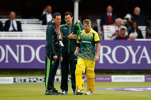 David Warner in race against time to be fit for New Zealand series