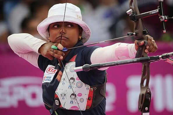 Deepika Kumari wins silver medal at the Archery World Cup final