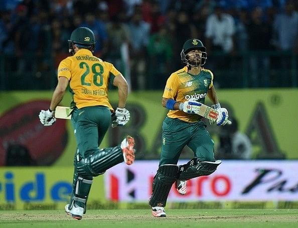JP Duminy feels partnerships were key to South Africa's victory over India in the 1st T20I
