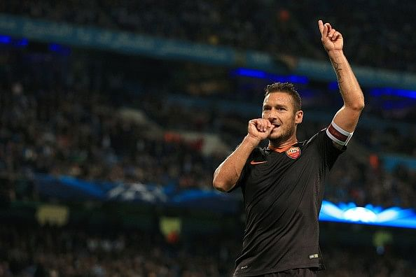 Top 5 achievements in the career of Francesco Totti