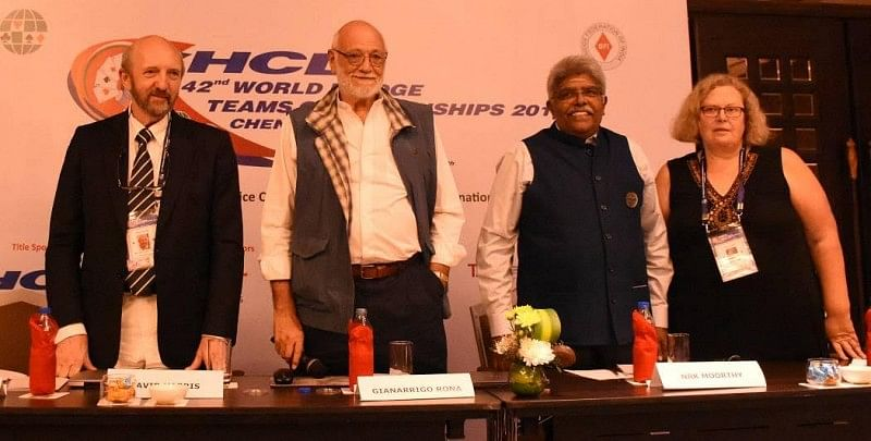 HCL 42nd World Bridge Teams Championships finals to be held on 10th October, Saturday