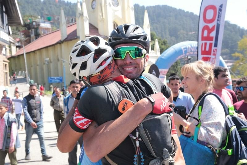 Prizes distributed for the 11th Hero MTB Himalaya