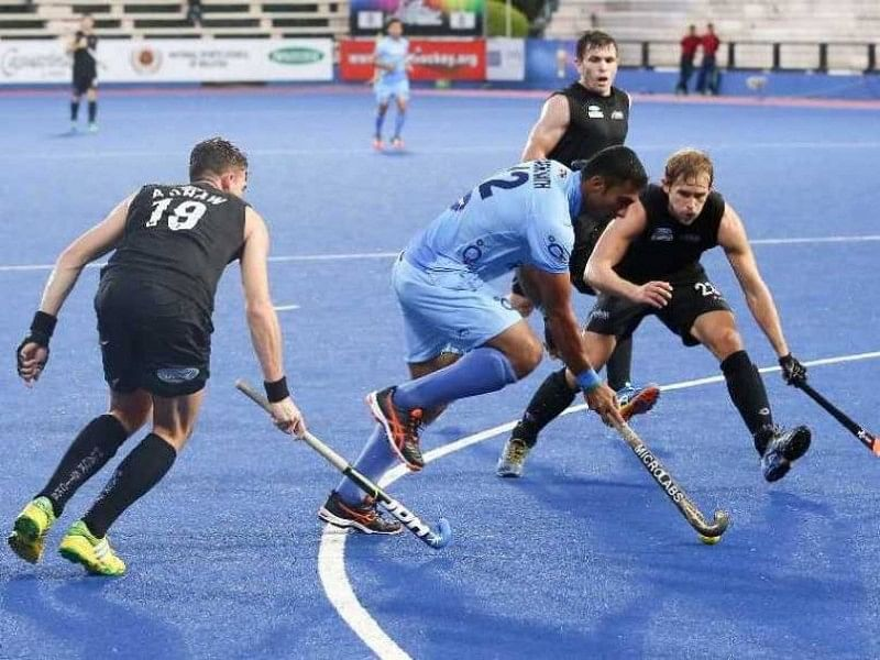 Early pressure suffices to give New Zealand a 2-0 win over India