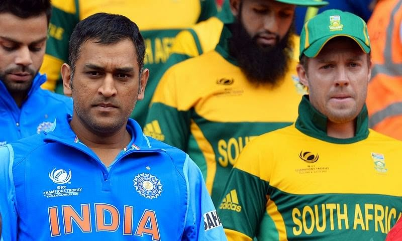 The relevance of the digit '3' in the India-South Africa ODI Series