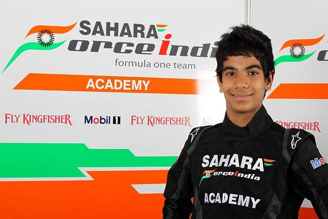 Force India Academy racer Jehan Daruvala earns podium finish in Germany
