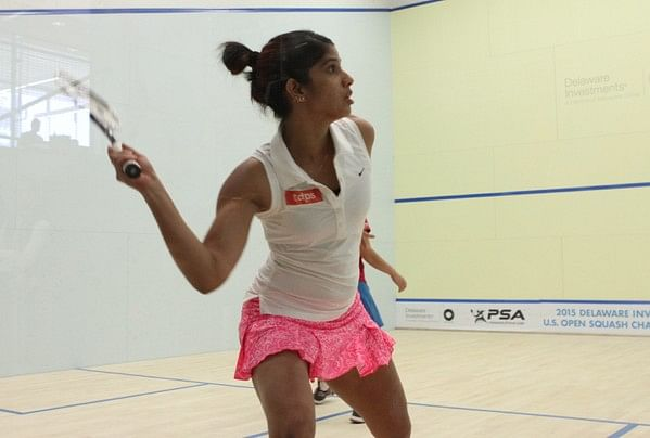 Joshna Chinappa upsets World No. 10 Annie Au at US Open Squash