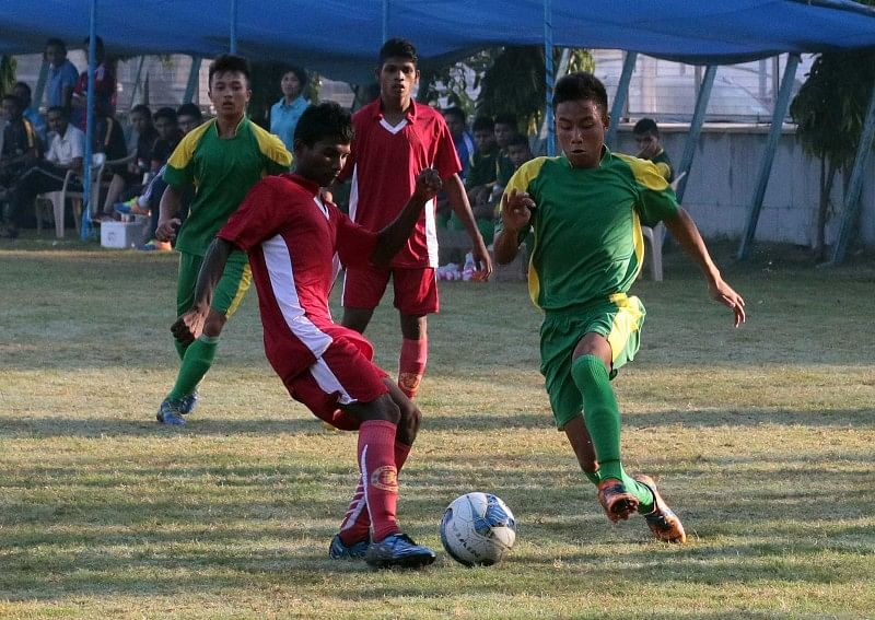 Last years Runners Up thrash school from TN 15-1 in Subroto Cup