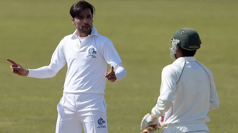 Mohammad Amir fined for verbal assault after retaliating to being called