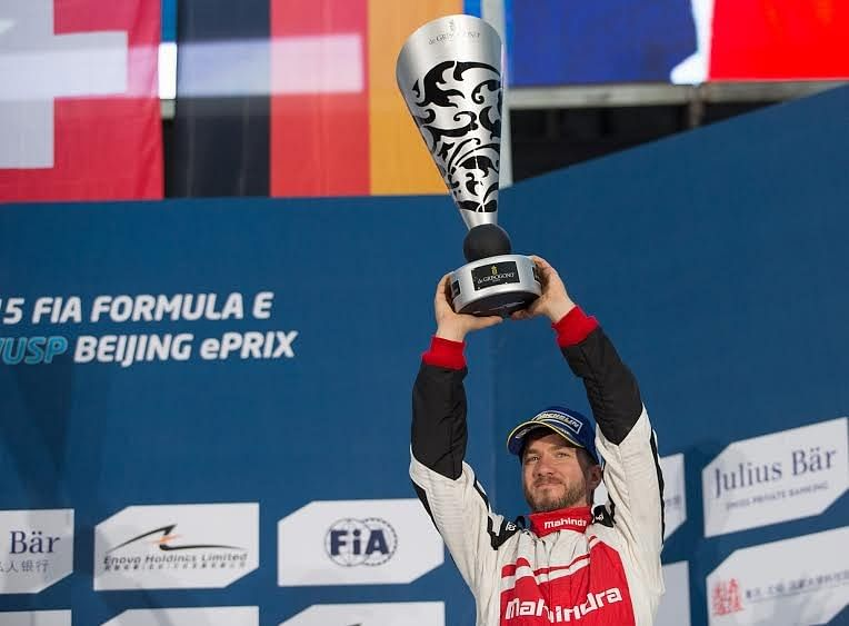 Nick Heidfeld scores Mahindra Racing's first Formula E podium in Beijing
