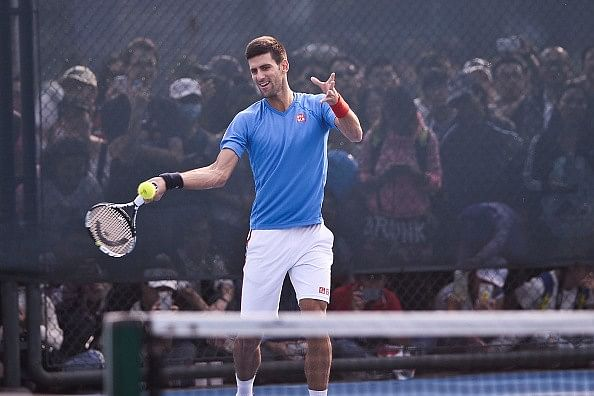 Video: Novak Djokovic shows his class with an incredible new shot