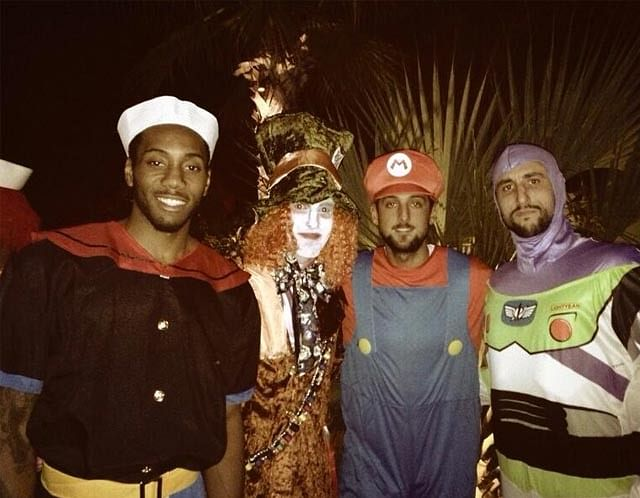 The Best NBA Halloween Costumes