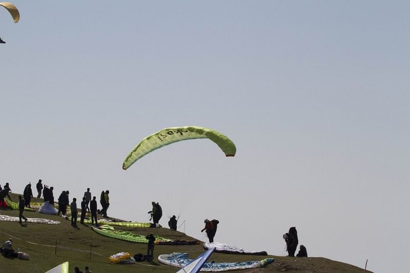 Julian Wirtz dominates third task of AAI Paragliding World Cup