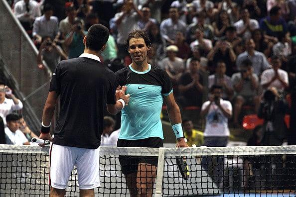 Novak Djokovic beats Rafael Nadal in exhibtion match