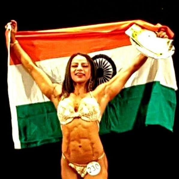 Shweta Rathore creates history by winning silver medal at Asian Bodybuilding Championship