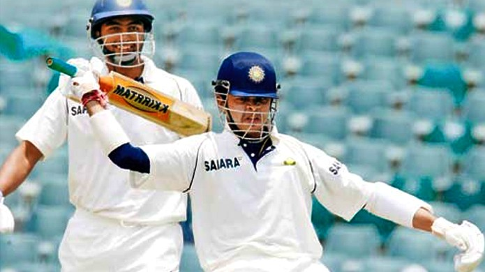 5 instances when the batsman replied to sledging with a six