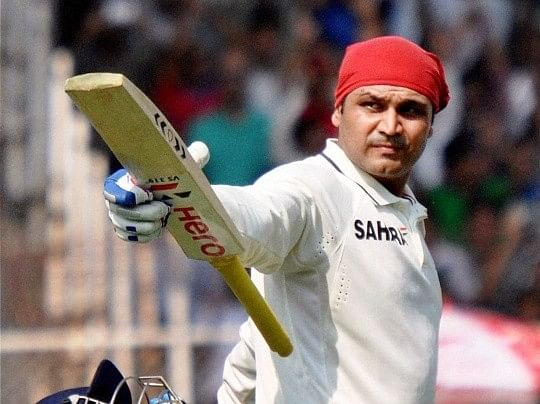 Virender Sehwag and Ravindra Jadeja grab headlines on the opening day of Ranji Trophy 2015-16