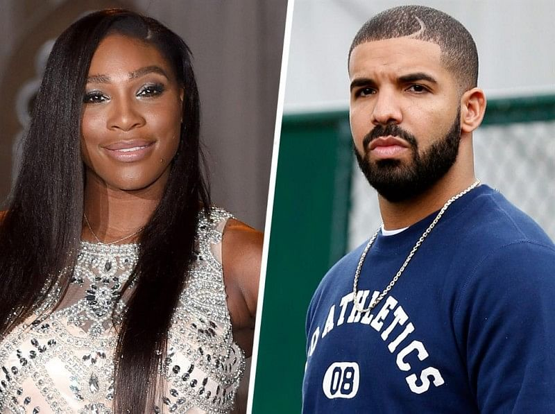 Tennis player tweets congratulations to Serena Williams and rapper Drake for